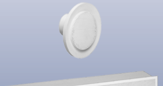 Wall Displacement Outlets
