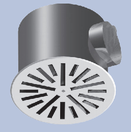 Radial Slot Outlet RL-C