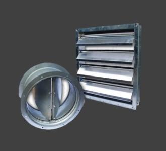 Non Return Damper/Pressure Relief Damper