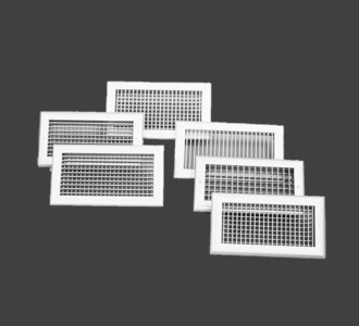 Single/Double Deflection Supply Air Grille