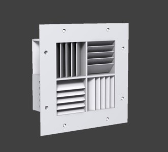 MSRRCD – Maximum Security Risk Resistant Ceiling Diffuser
