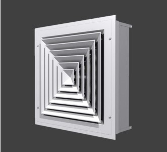 AMDC – Louvered Face Diffuser With HEPA Filter
