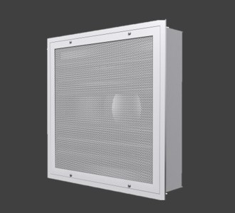 FRFDC – Flush Face Radial Flow Diffuser With HEPA Filter
